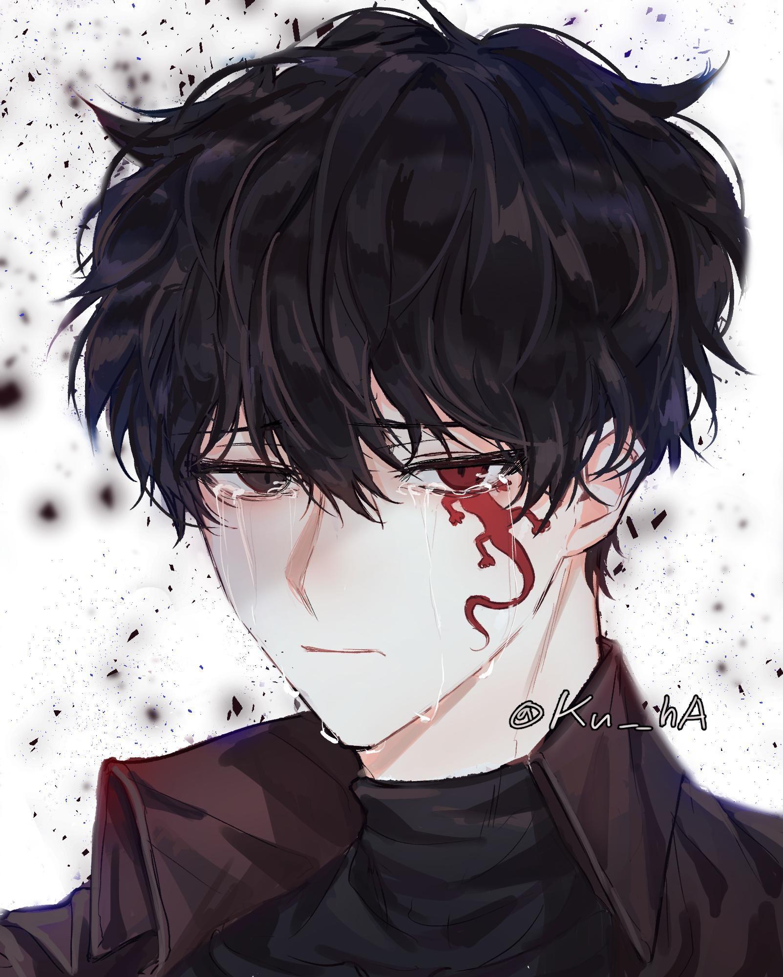 Pin By Nightgy Army On Unie Anime Drawings Boy Cute Anime Guys Dark Anime