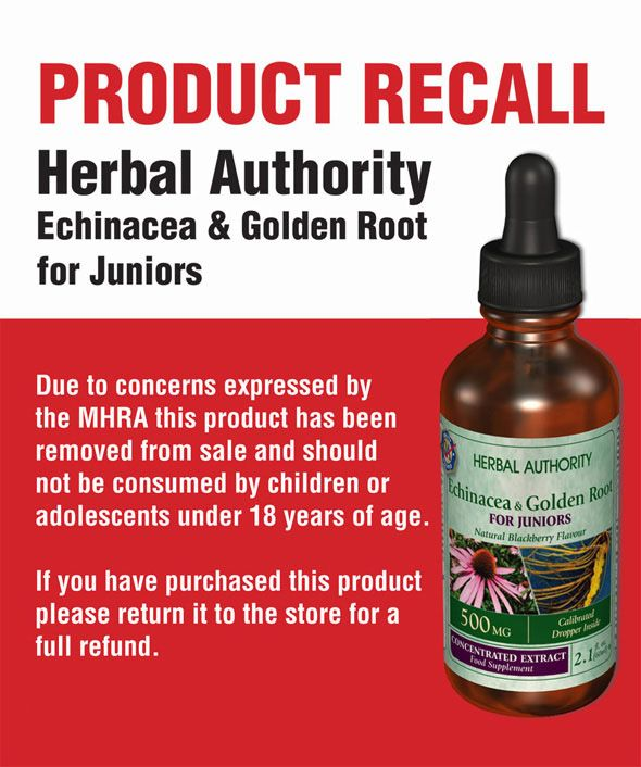 Parents advised not to use unlicensed children's herbal