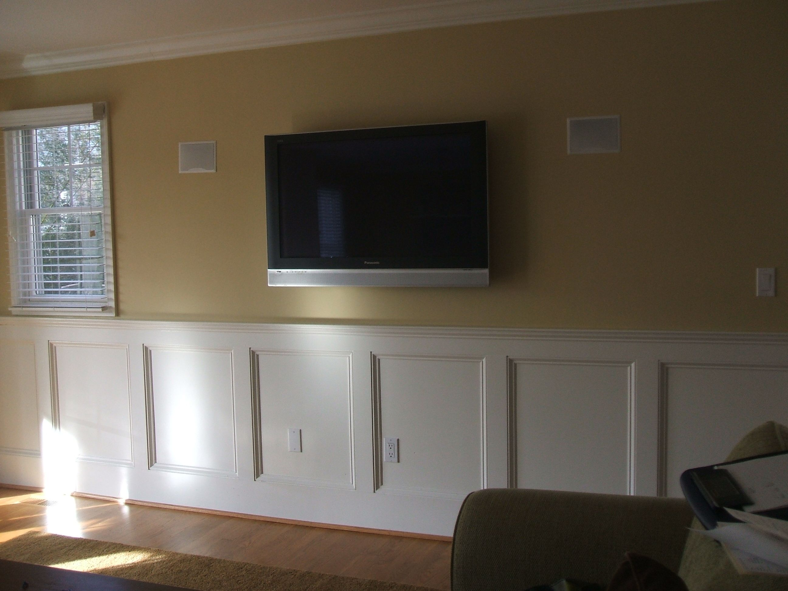 Walls In Living Room And Morning Wainscoting Idea Number Four Shows A Classic Craftsman