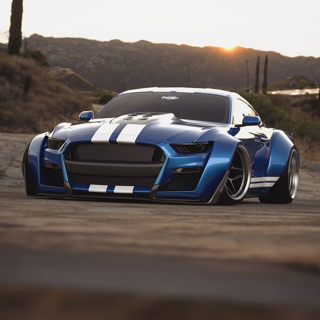 The 2020 GT500 Widebody 🇺🇸 🔻🔻🔻🔻🔻🔻🔻 Not A Fan Of Spoilers