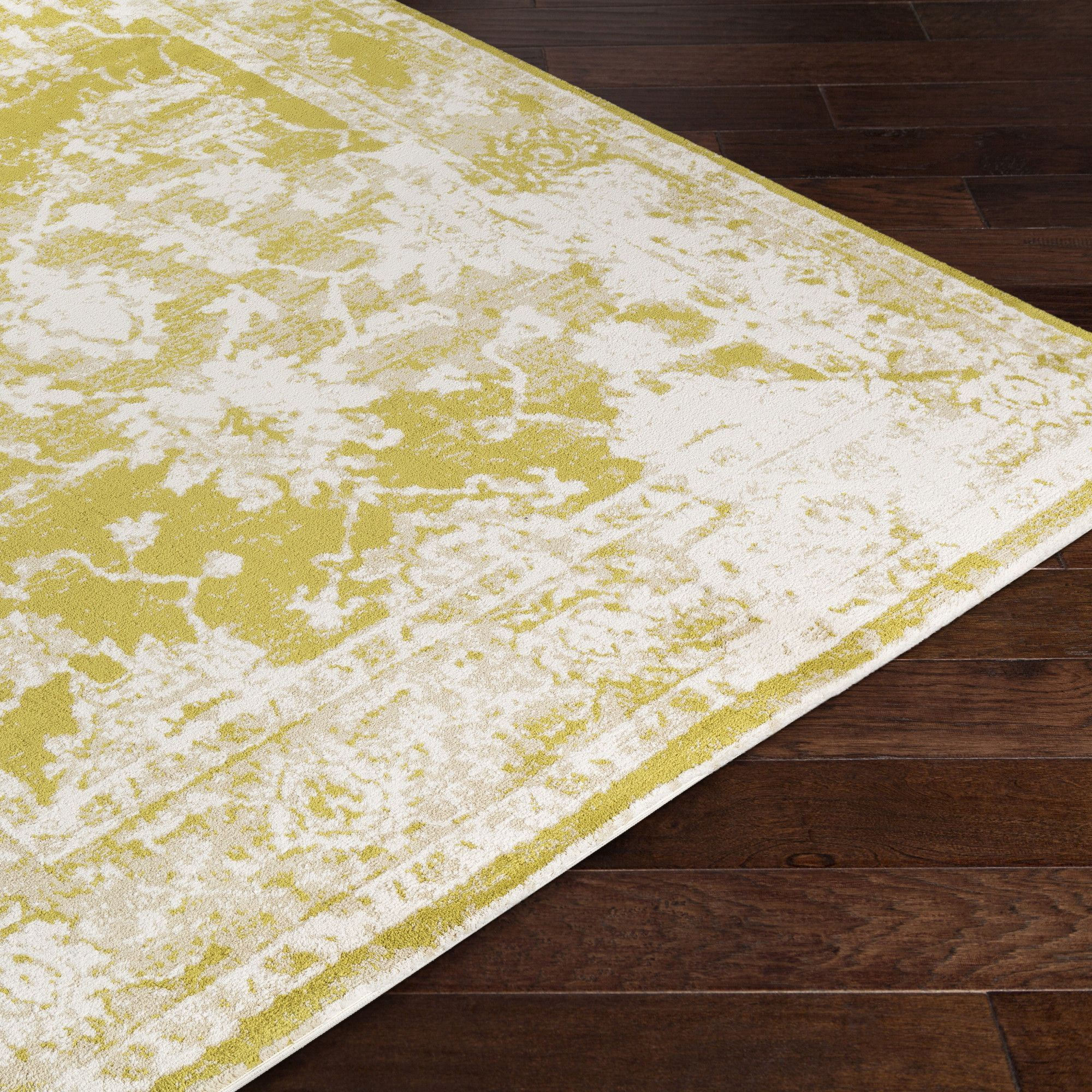 Apricity Yellow Area Rug Products Pinterest