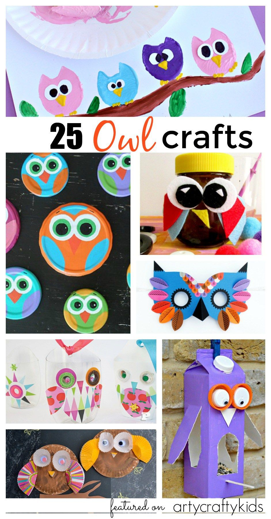 Owl Craft Ideas For Kids Part - 33: 25 Owl Crafts For Kids
