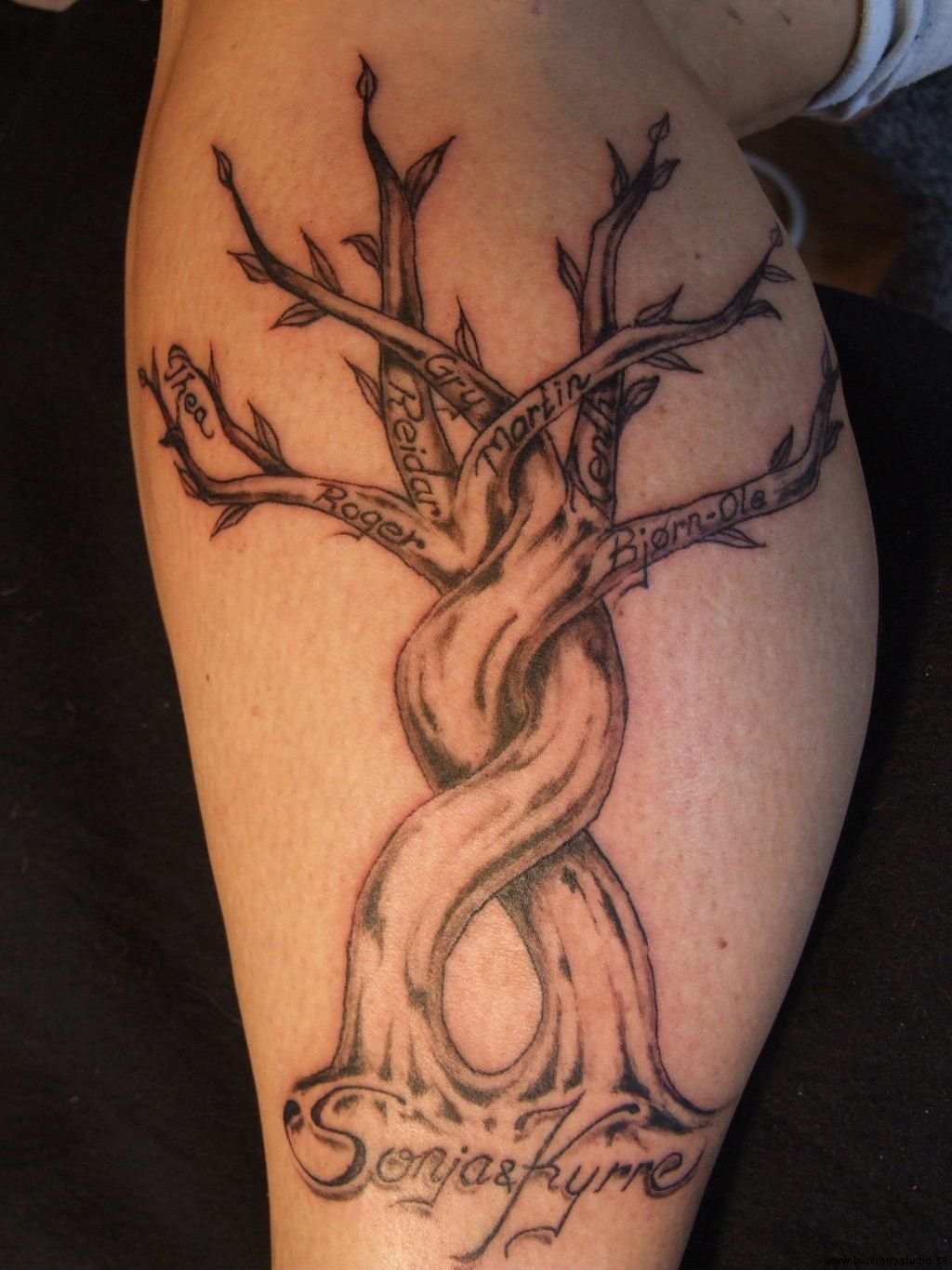 Family tattoos for men family symbol tattoo and tree sleeve family tattoos carry a special significance and mean something different to every person who gets buycottarizona Images