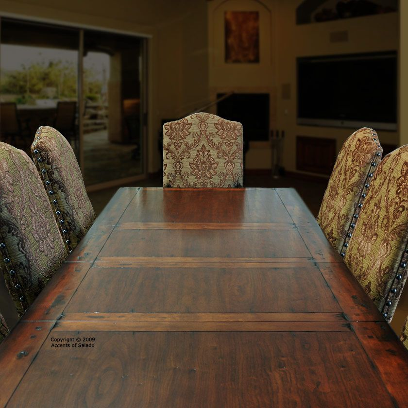 rustic round dining tables dining room table x long extra long round tuscany style - Extra Long Dining Room Table Sets