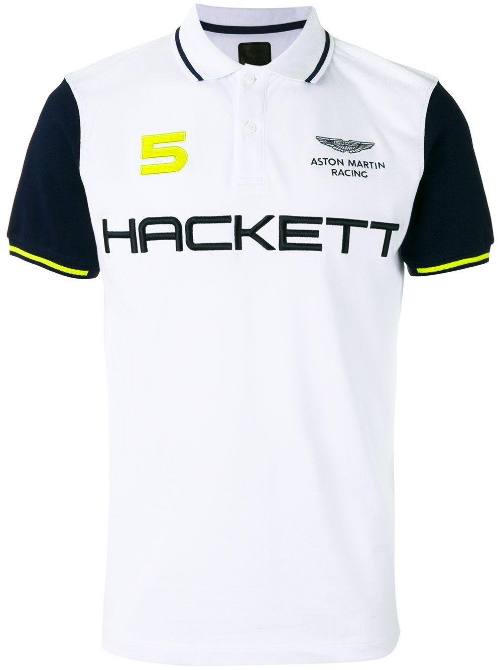 bec312d519 Hackett polo à logo imprimé | T-shirt sport | Smart casual polo ...