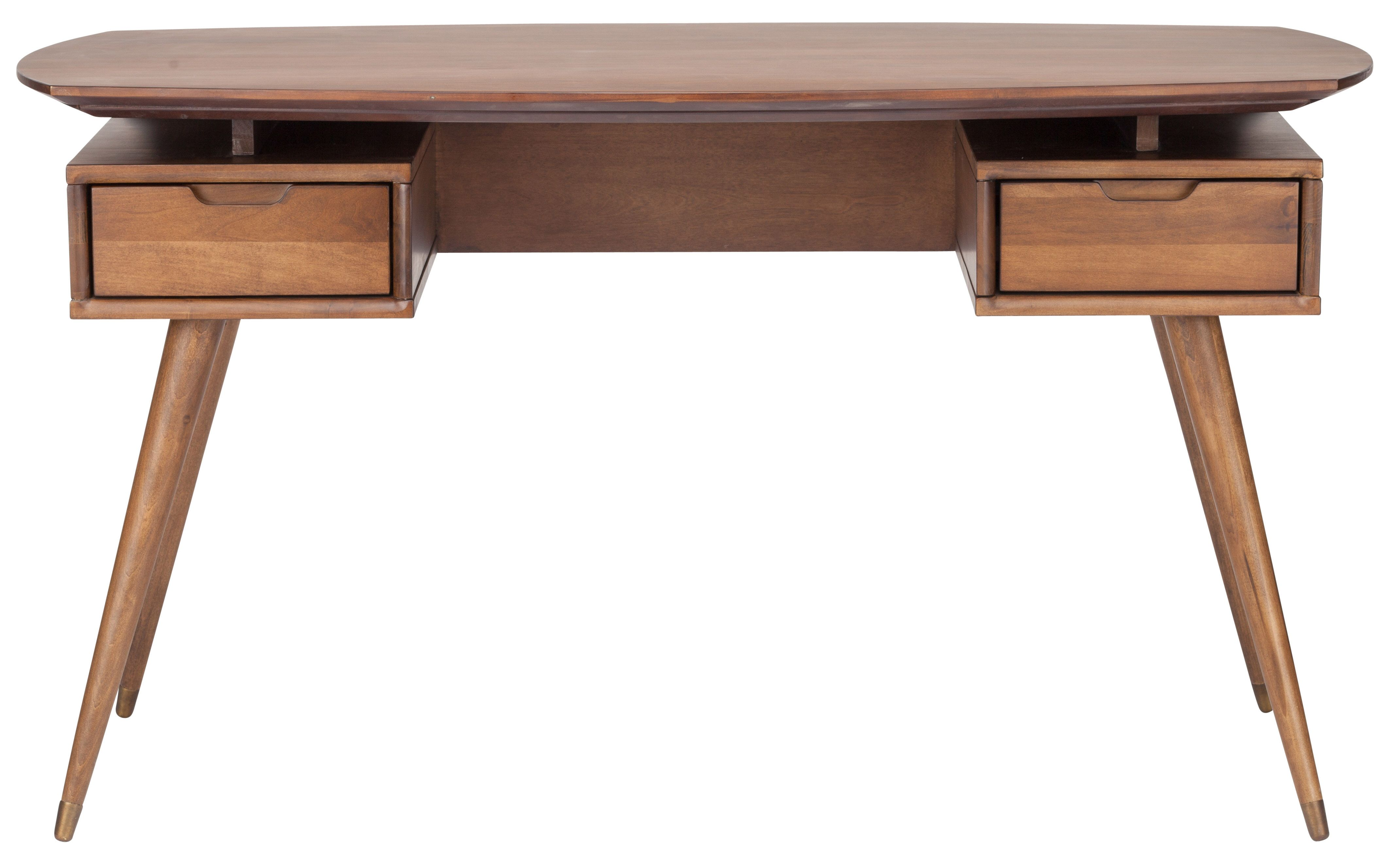 Nuevo Solid Wood Writing Desk Wood writing desk, Wood