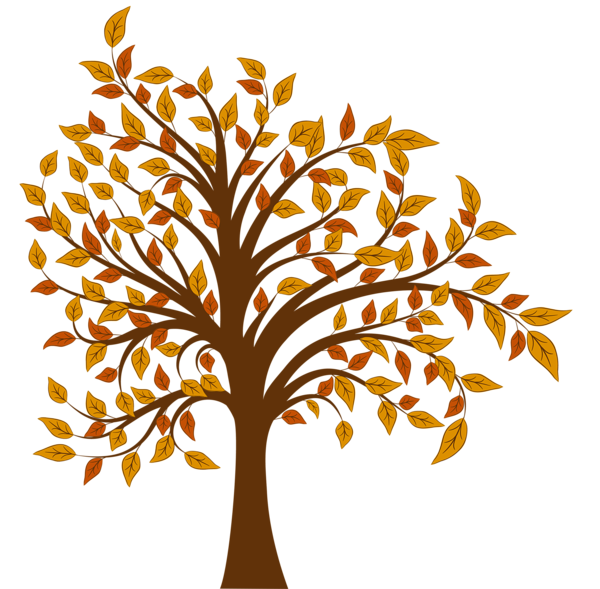 Fall Tree Png Clipart Image Autumn Trees Clip Art Tree Clipart