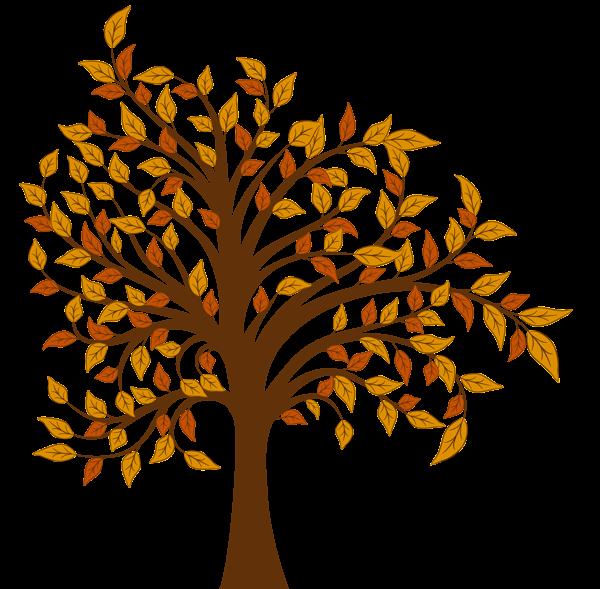 autumn tree clipart - photo #24