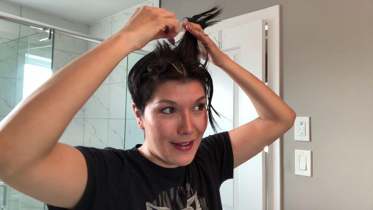 Pin On Short Hair Diy
