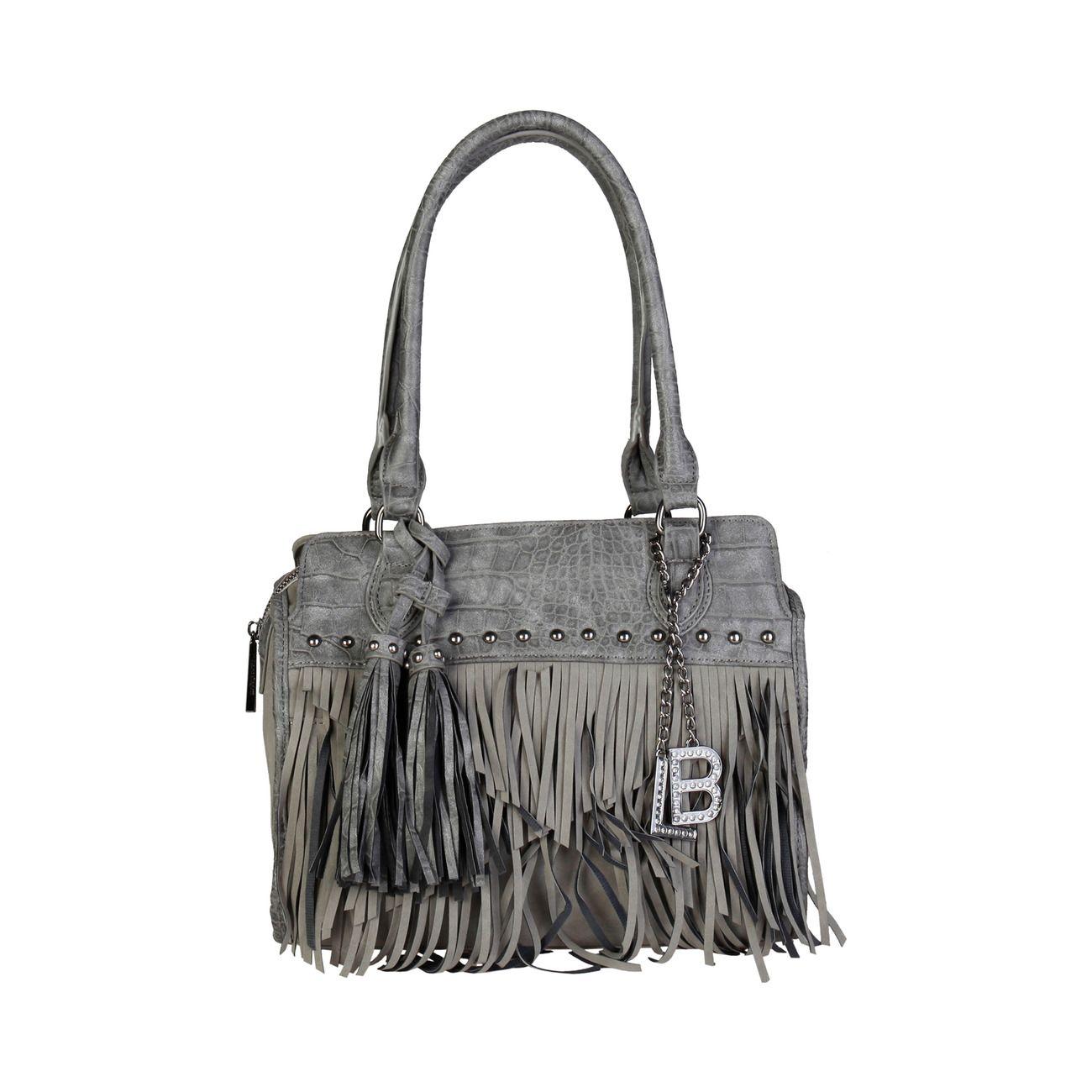 9865532dcf Bolso de hombro flecos Laura Biagiotti #luxeoutletvalencia #laurabiagiotti  #bolso