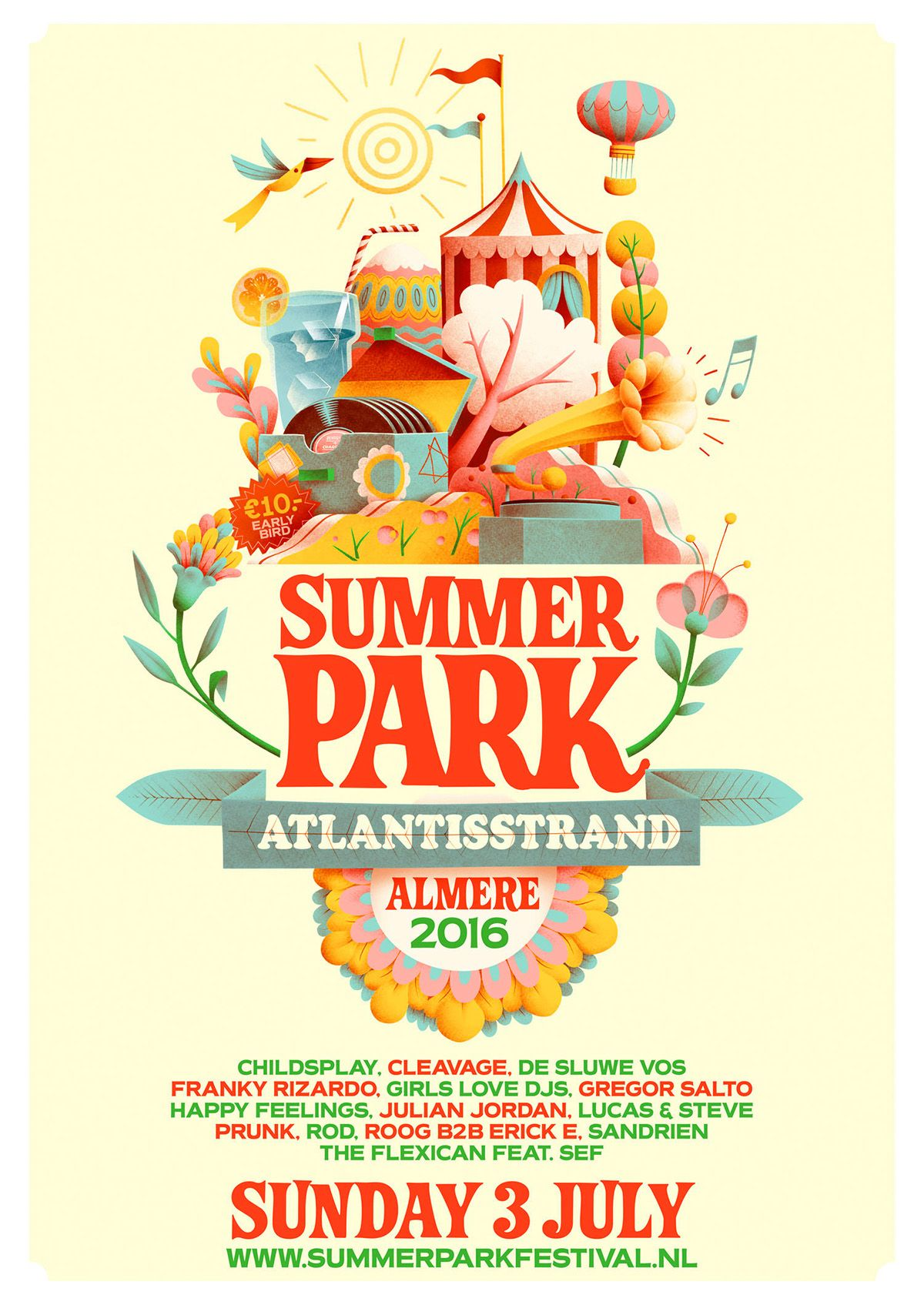 artwork for a new festival in almere  a city close by