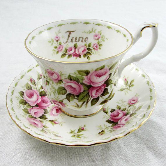Royal Albert Flower of the Month June Roses