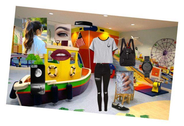 """7 Years"" by gretltje on Polyvore featuring mode, Chicnova Fashion, Topshop, Vans, Michael Kors en NIKE"