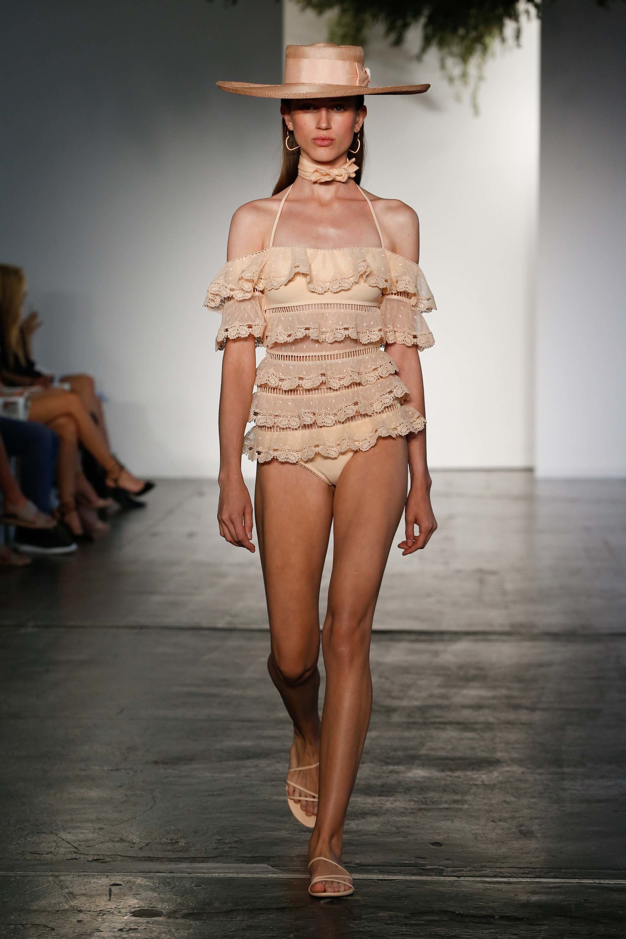 Zimmermann resort fashion show resorts collection and swimwear