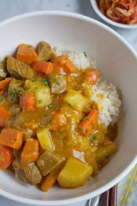 Receta: Coreano Curry Rice                                                                                                                                                                                 Más