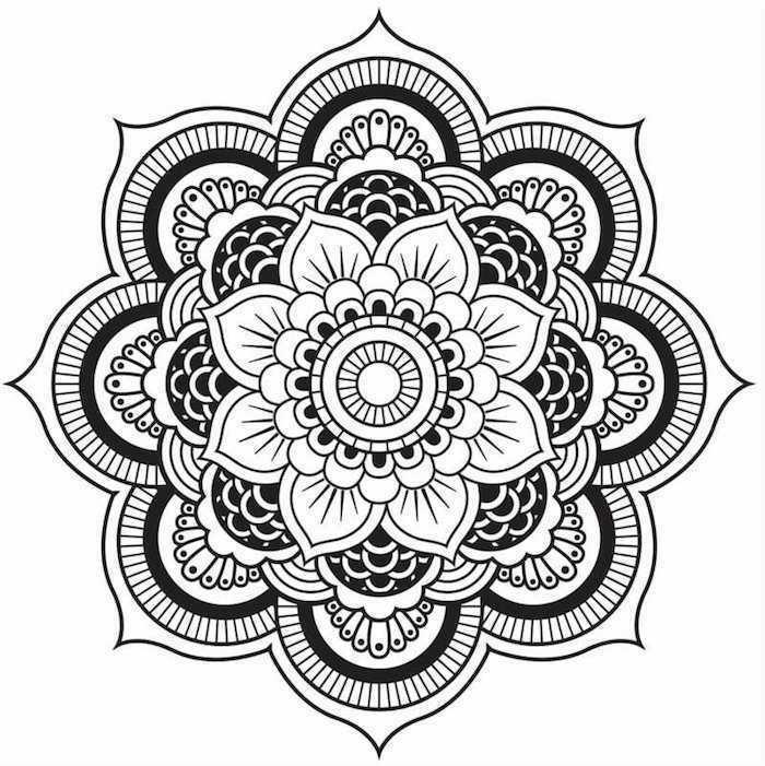 1001 Coole Mandalas Zum Ausdrucken Und Ausmalen In 2020 Mandala Kunst Mandala Vorlagen Mandala Ausmalen