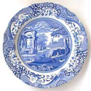Spode Salad Plates and accent pieces