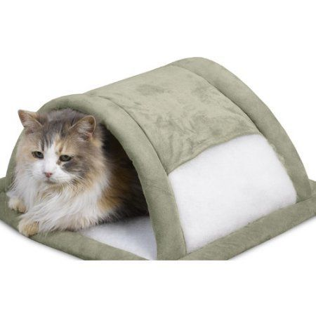 PetMate Attract-O-Mat Tunnel Sleeve, Beige