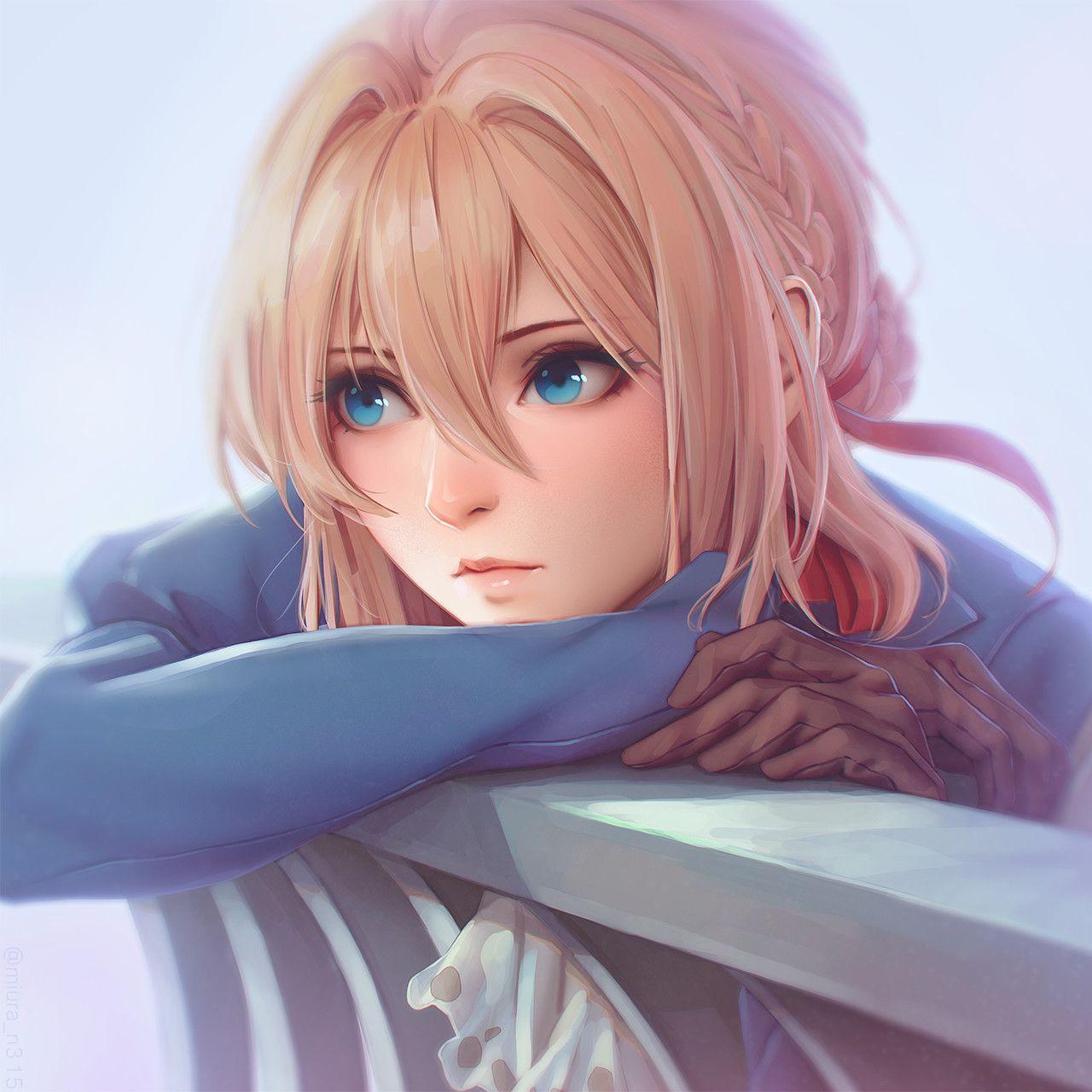 Pin On Semi Realistic Anime Art