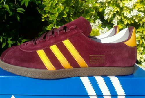 Adidas Trimm Star Trainers Size 8 Deadstock 80s Retro