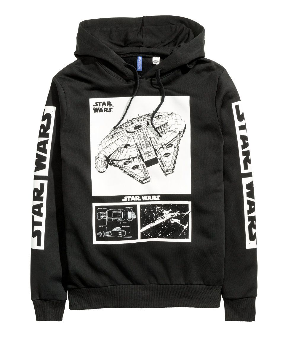 Hooded Sweatshirt with Motif | H&M Divided Guys | DIVIDED ...