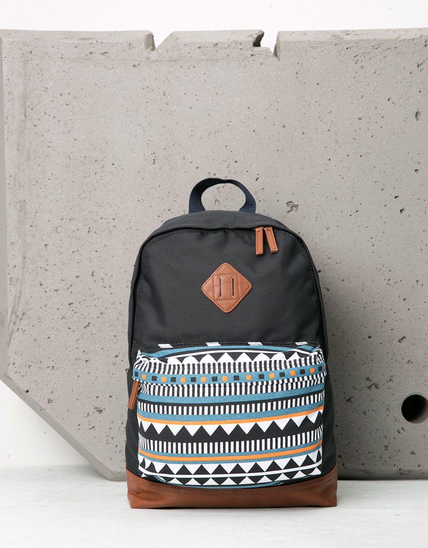6ac059271e Ethnic print backpack   Bags&Purses That I Want   Backpacks, Ethnic ...