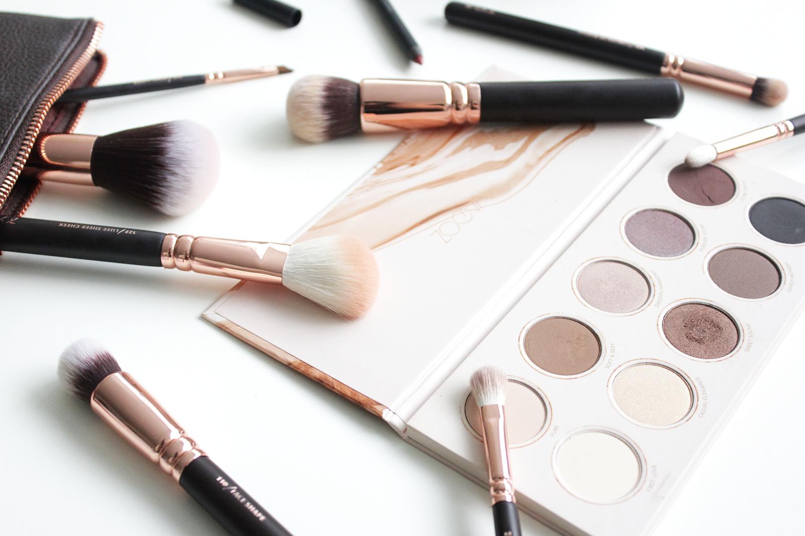 Zoeva Cosmetics, Rose Gold Makeup Brushes