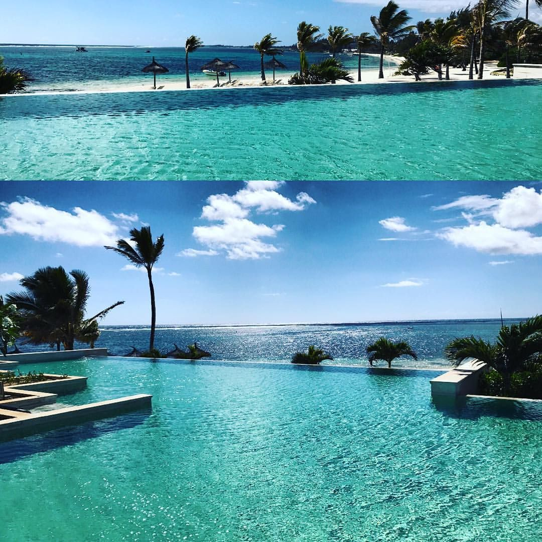 Infinity Pool Komplettset Infinity Pool Long Beach Golf Spa Resort Mauritius Science And