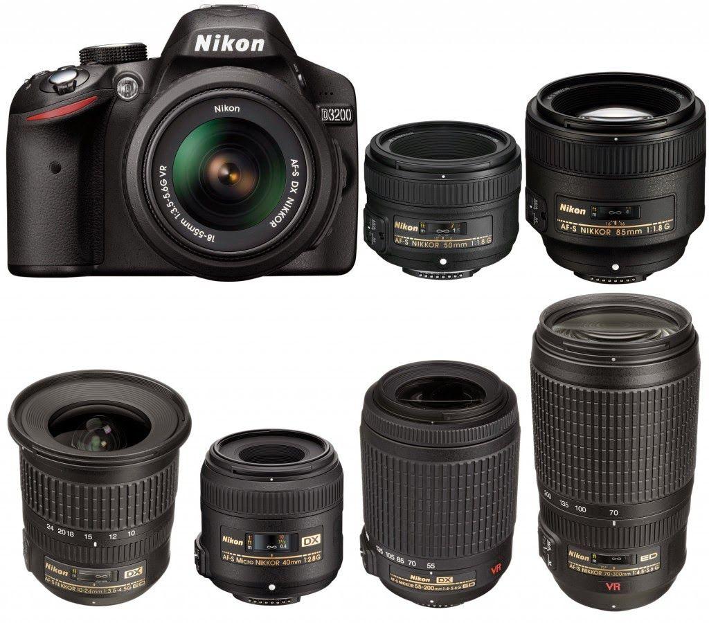 Nikon D3200 News Nikon D3200 Compatible Lenses Bible Photographie Materiel Photo Appareil Photo