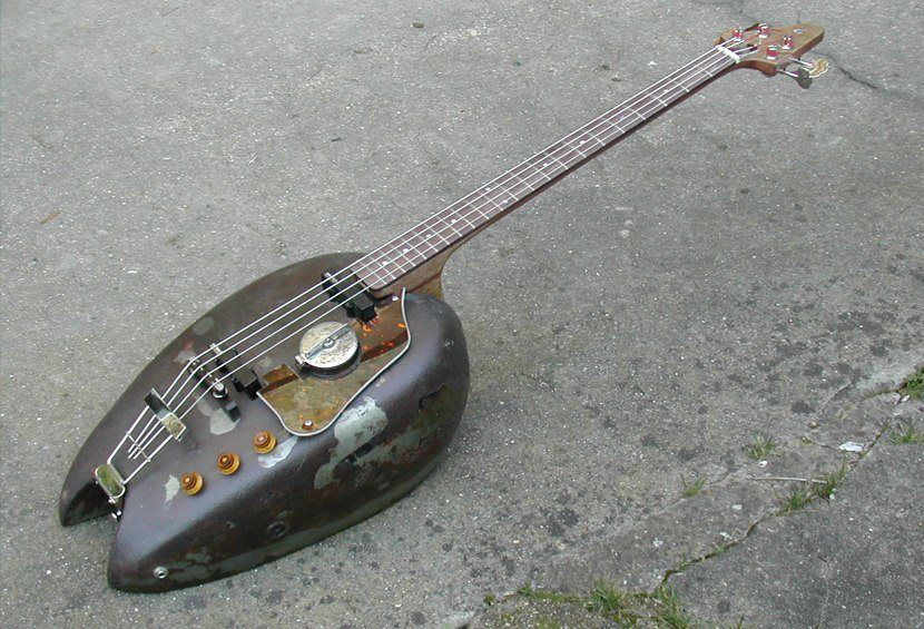 Motorcycle Gas Tank Bass