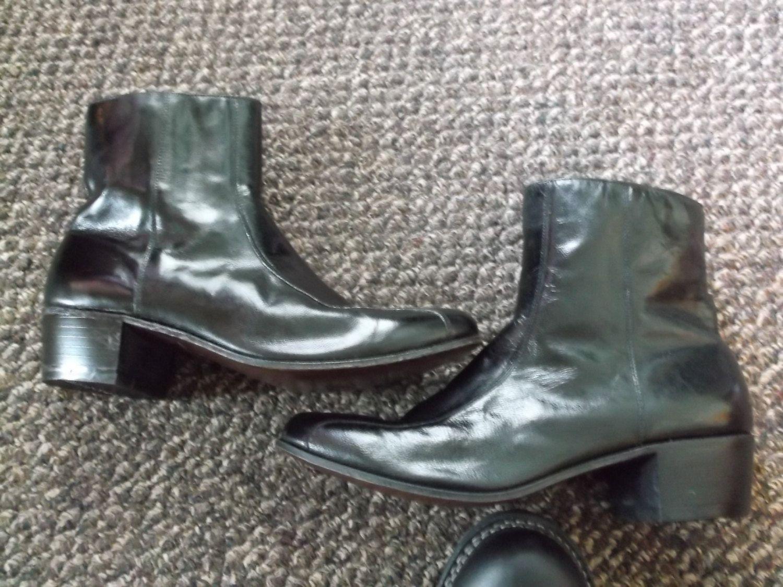 Vintage Florsheim Boots TALL Men's boots zipper Duke boots dress boots…