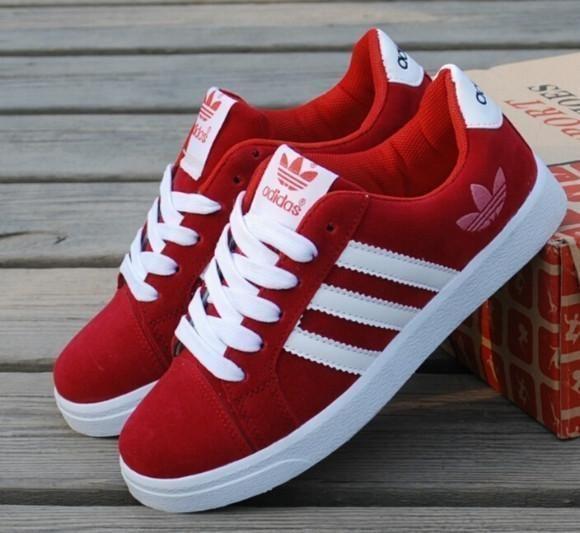 šupalj igrač Komocija red adidas sneakers womens