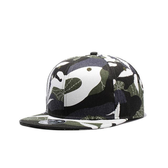 Camouflage Baseball Cap For Men Women Snapback Baseball Caps Flat Camo Hats New