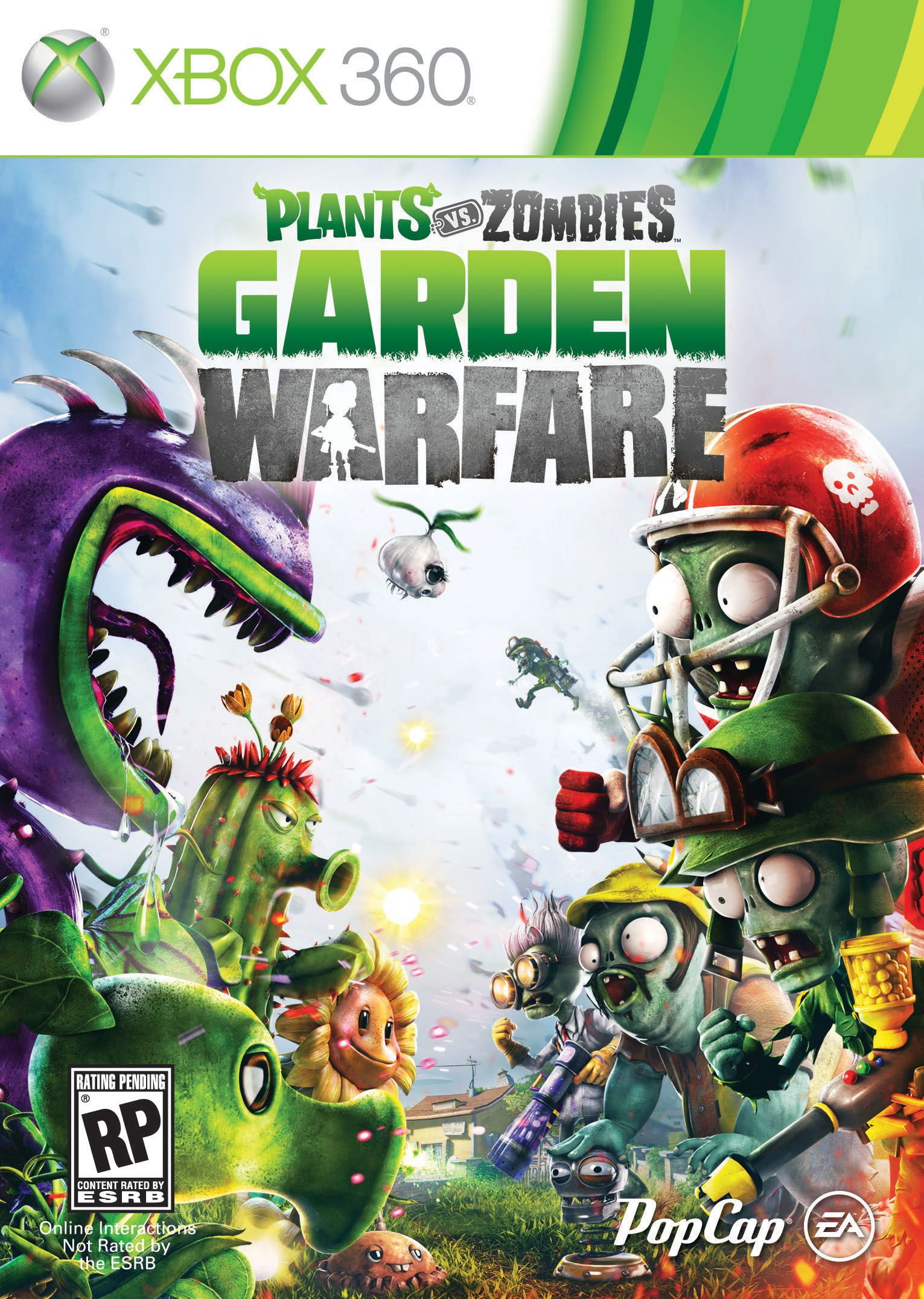 Plants Vs Zombies Garden Warfare Xbox One Plants Vs Zombies Xbox One Games Zombie