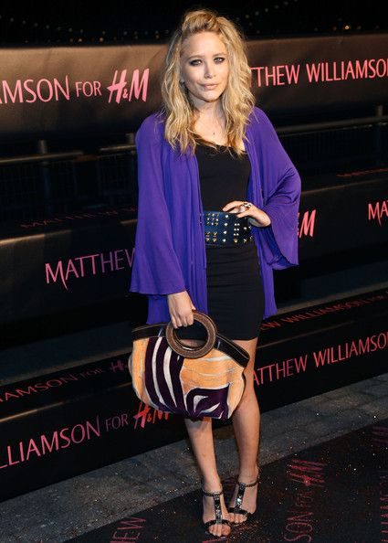 """Mary-Kate Olsen Pumps - Mary Kate attends this fashionable event wearing these """"T-bar Sandals"""" in patent leather with an Alexander Wang one shoulder goddess dress."""