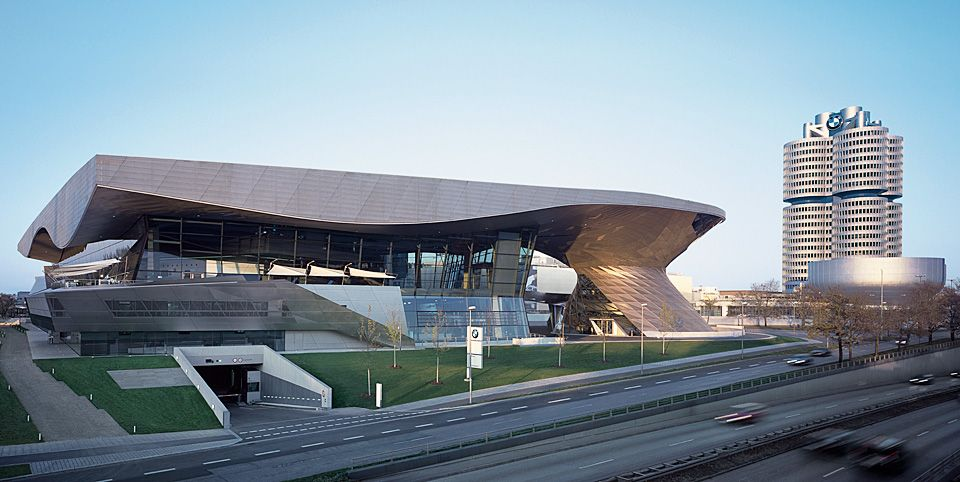 BMW Welt and BMW Museum Visitor information Directions