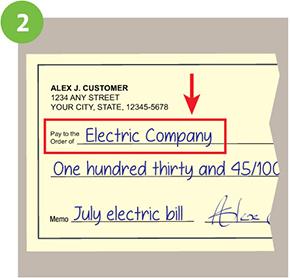 How To Write A Check Fill Out A Check Huntington Bank Writing Order Checks Online Huntington Bank