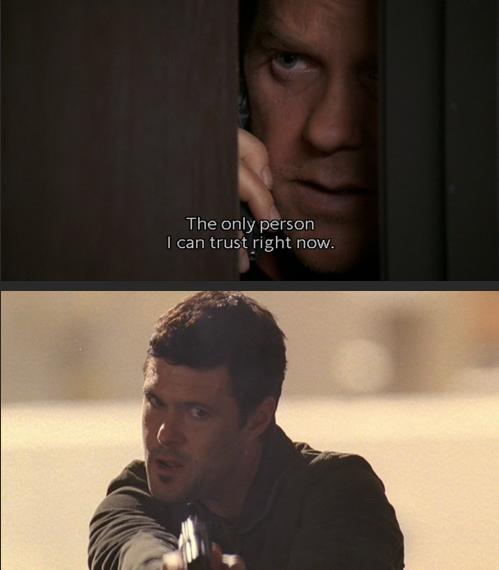 Jack Bauer e Tony Almeida; Season 4 || manter a calma ... tente não FanGirl ... e falhar miseravelmente ... porque TONY ALMEIDA