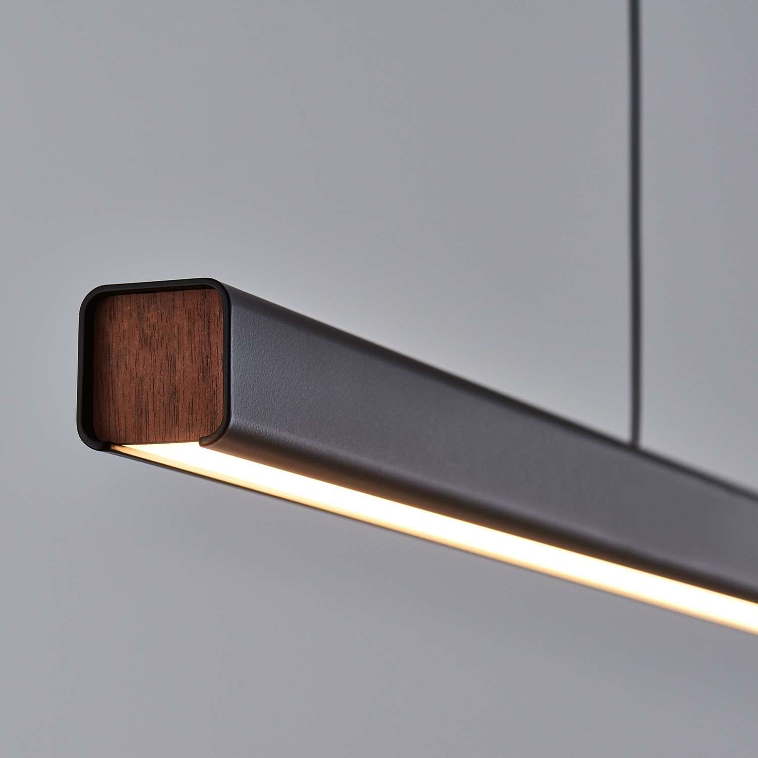 Mumu Led Linear Suspension Pendant Light