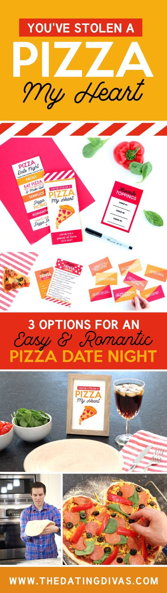 You've Stolen A Pizza My Heart Date Diy gifts for