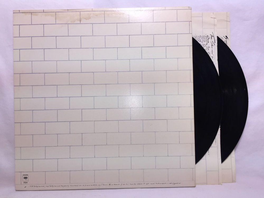 Pink Floyd The Wall LP Columbia PC2 36183 Record Vinyl Original Gatefold