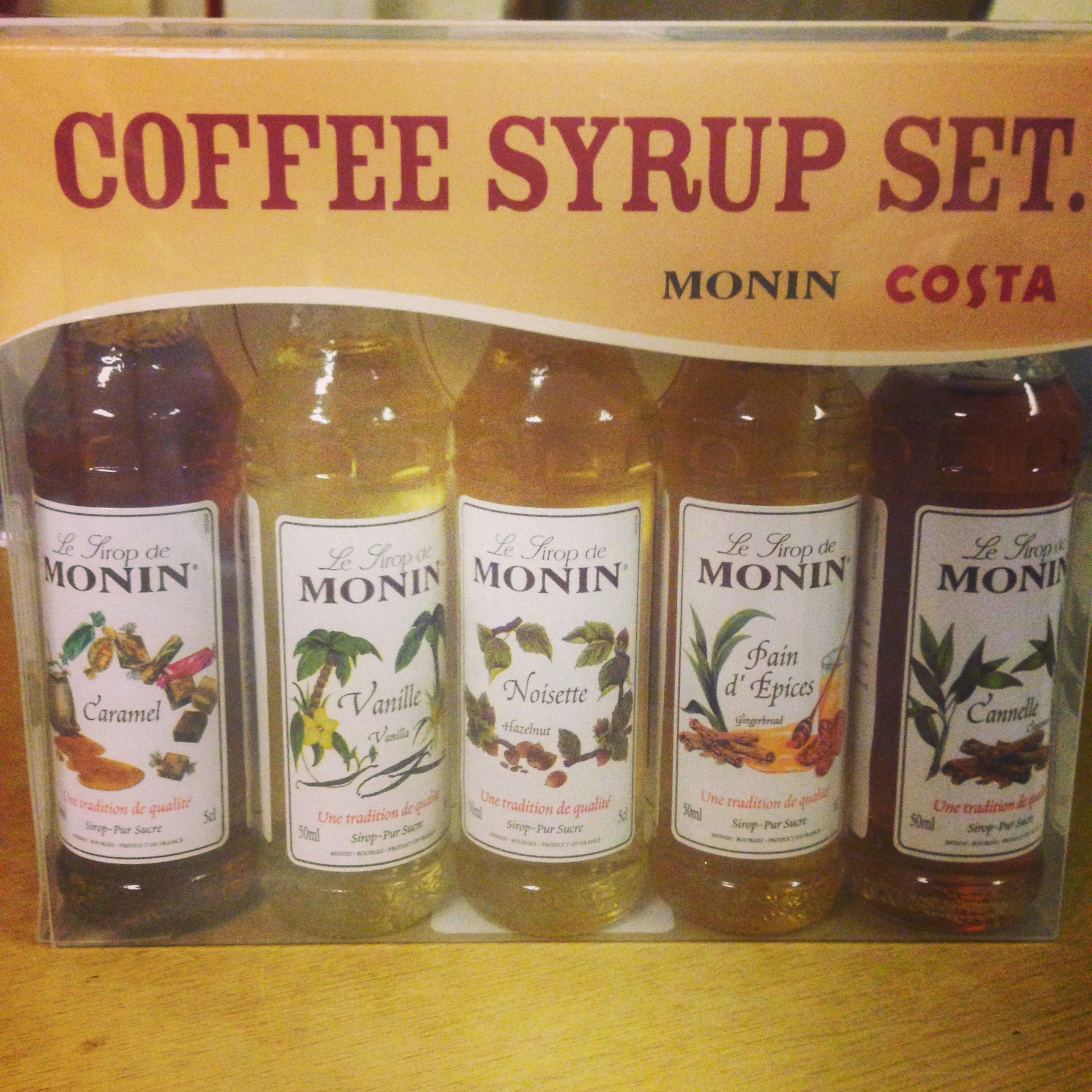Coffee Syrup from Costa....YES Coffee syrup, Tea bottle