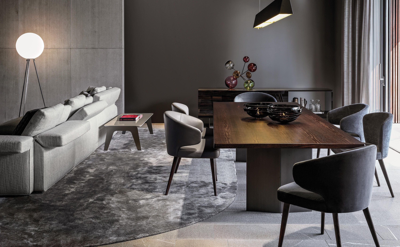 MORGAN MARBLE - Dining tables from Minotti | Archi
