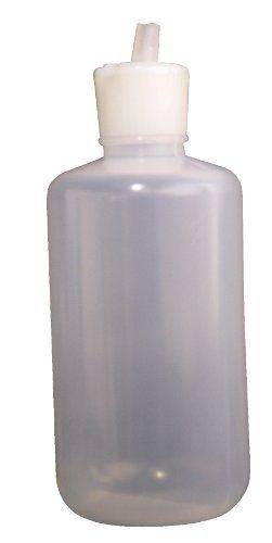 Vestil Btl Rf 8 Low Density Polyethylene Ldpe Round Squeeze Dispensing Bottle With Natural Flip Top Cap 2 1 4 Diamet Dispensing Bottles Vestil Home Brewing