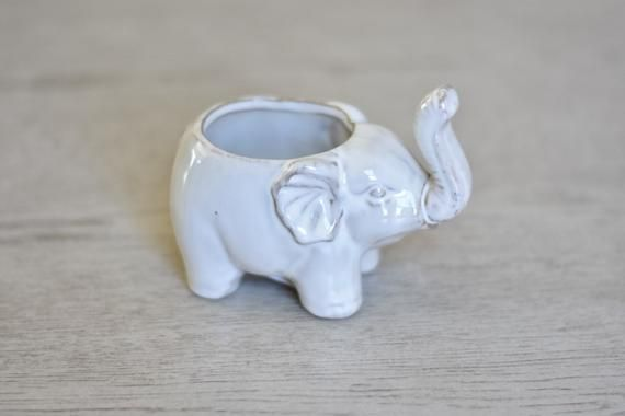 Ceramic Bisque Gangbuster Elephant Ready to Paint