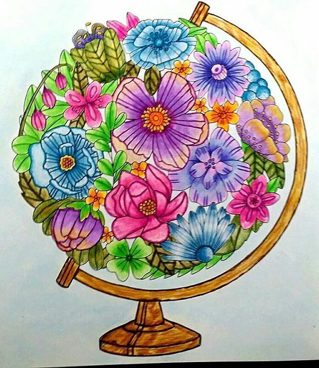 pin auf emelie lidehall oberg coloring books finished pages