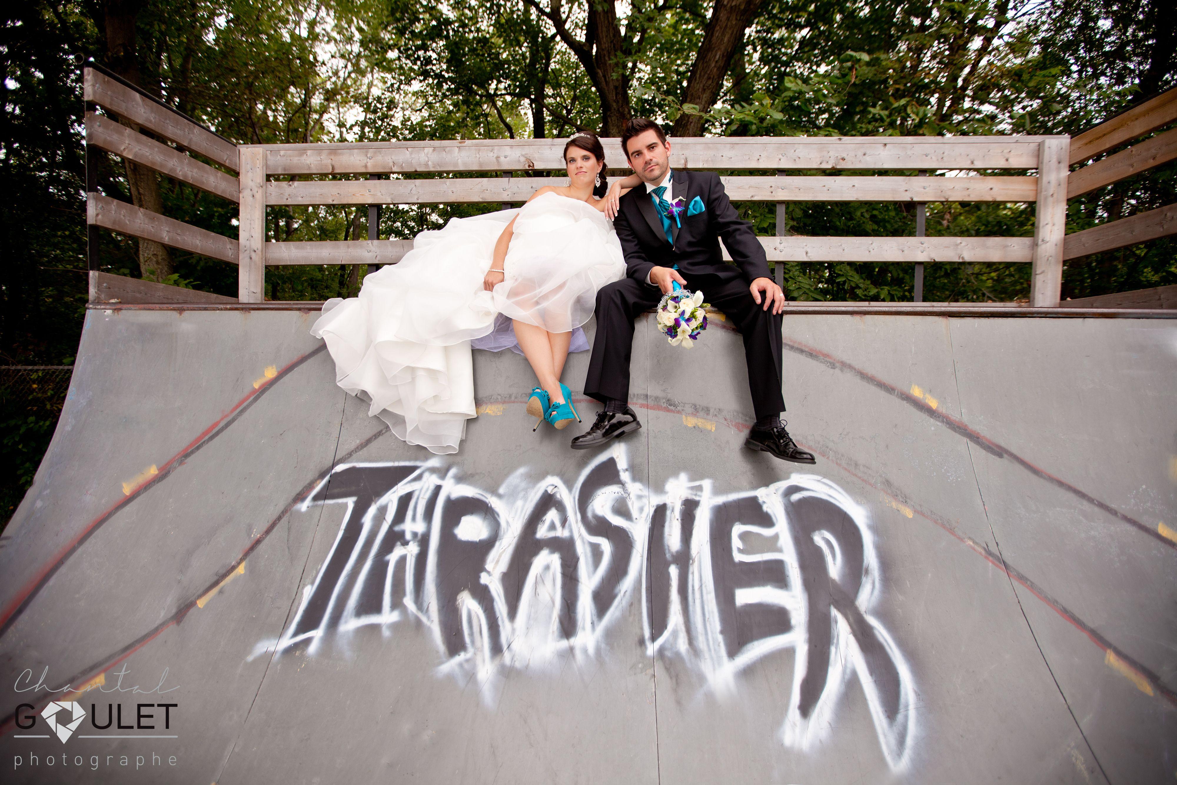 Chantal Goulet Photographe - Trash - Mariage