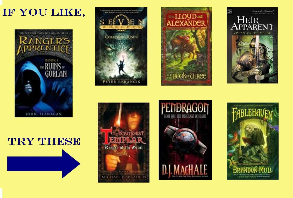 If you like Ranger's Apprentice series - try these books