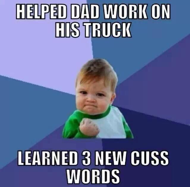 Learned 3 New Cuss Words Success Kid Nurse Humor Funny Quotes