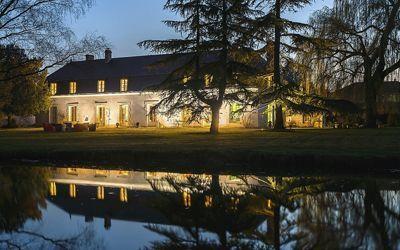 chambres d'hôtes et propriété à vendre aux portes des Châteaux de la Loire
